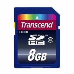 Thẻ nhớ máy ảnh 8 GB SDHC Transcen