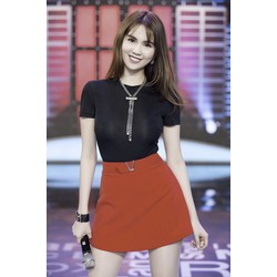 Bộ Set Áo Và Váy Xinh Như Ngọc Trinh S415