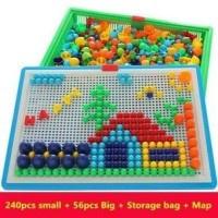 Bảng ghép tranh đa năng- Logic, sáng tạo cho bé 2