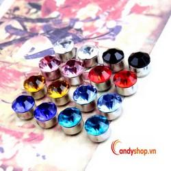 Bông tai nam châm - bông tai kim cương BNC24 candyshop88.vn
