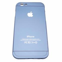 Ốp lưng viền nhôm cho IPhone 6,6S xanh đậm