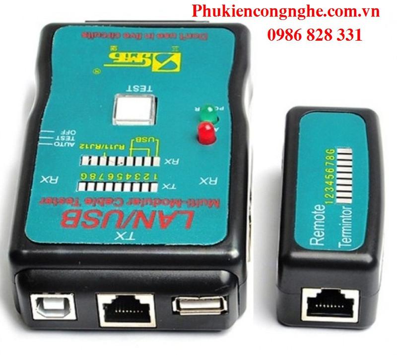 Hộp Test mạng Lan - USB đa năng CT-168 1