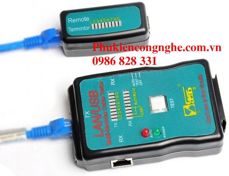 Hộp Test mạng Lan - USB đa năng CT-168 2