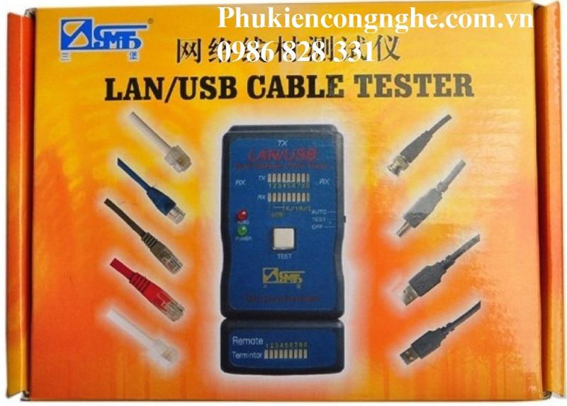 Hộp Test mạng Lan - USB đa năng CT-168 3
