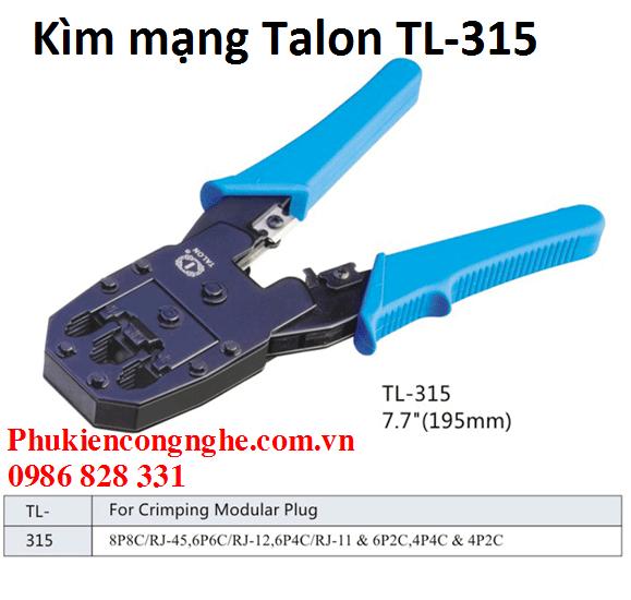 Kìm bấm mạng đa năng chính hãng Talon TL-315 3
