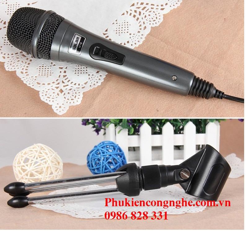 Mic Karaoke cao cấp cho Máy tính Điện thoại Salar M19 2