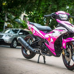 Decal Tem Trùm Exciter 150 Hello Kitty