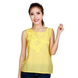 Áo Kiểu Nữ Phối Ren Hoa Style