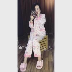 Set pijama dài _MỎ CHU SHOP