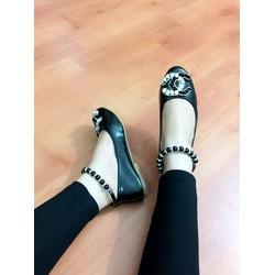 HÀNG NHẬP CAO CẤP - Giày búp bê vòng cổ chân cực đẹp