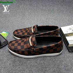 Giày lười da Louis Vuitton