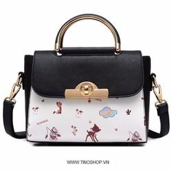 Túi xách nữ in hình họa tiết mới về hàng cực chất lượng