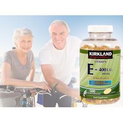 Vitamin E thiên nhiên 400