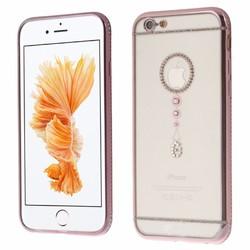 Ốp dẻo đính đá hiệu Shengo-Iphone5