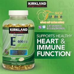 Vitamin E Kirkland 400iu 500 viên