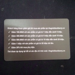 pin blackberry 8900 tặng thẻ giảm giá