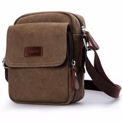 Túi đeo chéo vải bố dáng đứng DB02