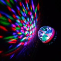 Đèn Cầu LED Xoay Nhiều Màu Độc Đáo