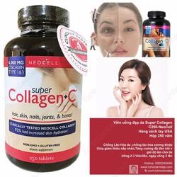 Viên Uống Đẹp Da Super Collagen C 250 Viên NeoCell
