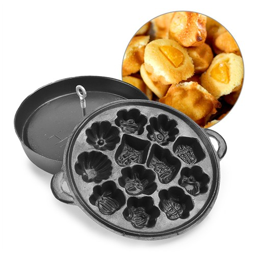 Khuôn làm bánh bông lan chống dính Huỳnh Anh - loại 12 bánh - 4107201 , 4490907 , 15_4490907 , 175000 , Khuon-lam-banh-bong-lan-chong-dinh-Huynh-Anh-loai-12-banh-15_4490907 , sendo.vn , Khuôn làm bánh bông lan chống dính Huỳnh Anh - loại 12 bánh