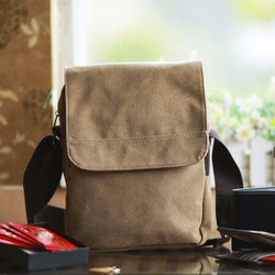Túi đeo chéo vải bố dáng đứng DB01