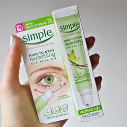 LĂN MẮT SIMPLE KIND TO EYES REVITALSING ROLL-ON