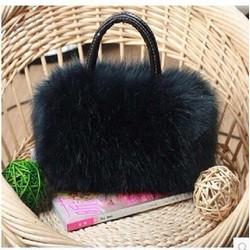 Túi xách lông sành điệu