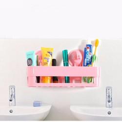 Kệ nhựa treo phòng tắm hút chân không NC613