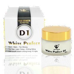 WHITE PERFECT D1 KEM TRỊ NÁM, TÁI TẠO TRẮNG DA, TÀN NHANG, ĐỒI MỒI