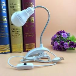 Đèn kẹp bàn đọc sách, học tập siêu sáng cồng USB