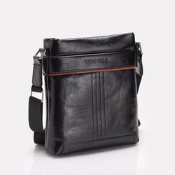 Túi xách đeo chéo nam PU bóng