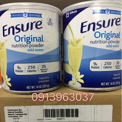 Sữa Bột Ensure Mỹ 397g