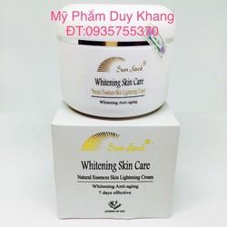 Kem dưỡng trắng da sunface. Whitening Skin Care