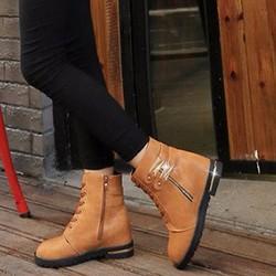B018V - Giày bốt nữ phong cách Hàn Quốc