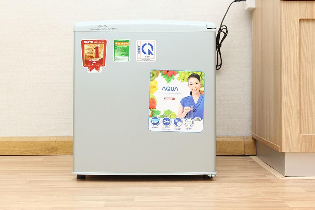 Tủ lạnh mini Aqua AQR-55AR 50 lít