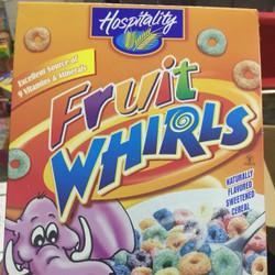 Bánh ngũ cốc ăn sáng Fruit Whirls 198g