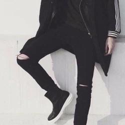 quần jean đen nam