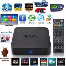 Smart tivi box MXQ biến tivi thường thành smart tivi