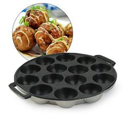 Combo 3 Khuôn làm bánh bạch tuộc Takoyaki Nhật - bánh hot ngày tết
