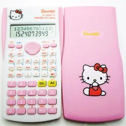 Máy tính Fx 570Ms Doraemon, hello Kitty