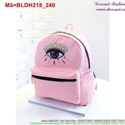 Ba lô da hình đôi mắt phong cách nổi bật cá tính BLDH218