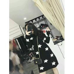 Đầm suông ngôi sao
