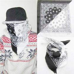 Khăn Turban đen trắng