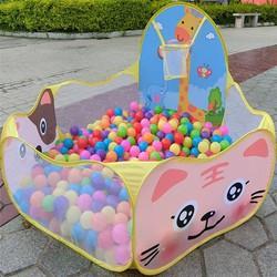 Lều nhà banh cho bé bao gồm 100 quả bóng