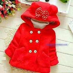 Áo bé gái khoác Dạ cho bé ấm áp mùa đông hàng vnxk
