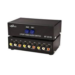 Bộ gộp tín hiệu Audio Video 2 vào 1 ra