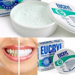 Bột Tẩy Trắng Răng Eucryl UK