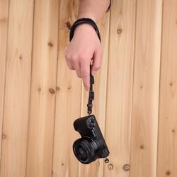 Dây đeo máy ảnh cổ tay Handstrap da bò