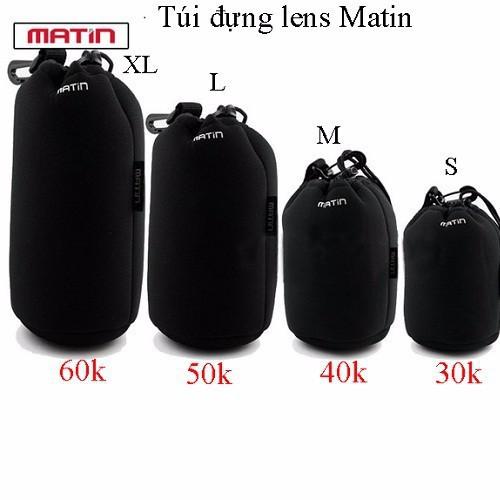 Túi chống sốc cho lens máy ảnh bộ 4 size