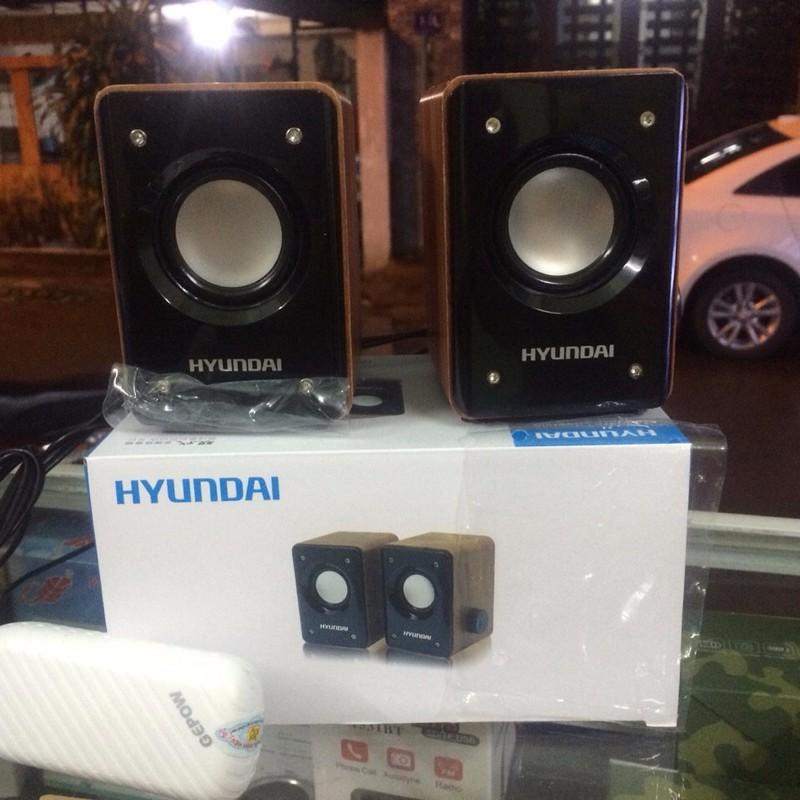 Loa  vi tính điện thoại Hyundai giả gỗ – Chính hãng 3